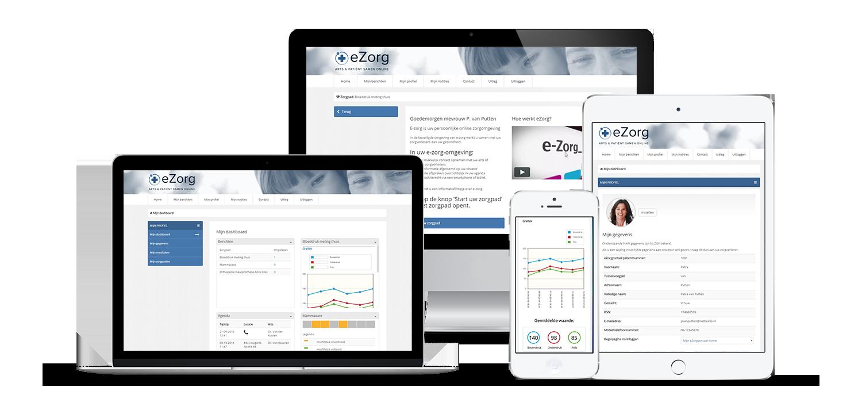 eZorg - Arts en patiënt samen online